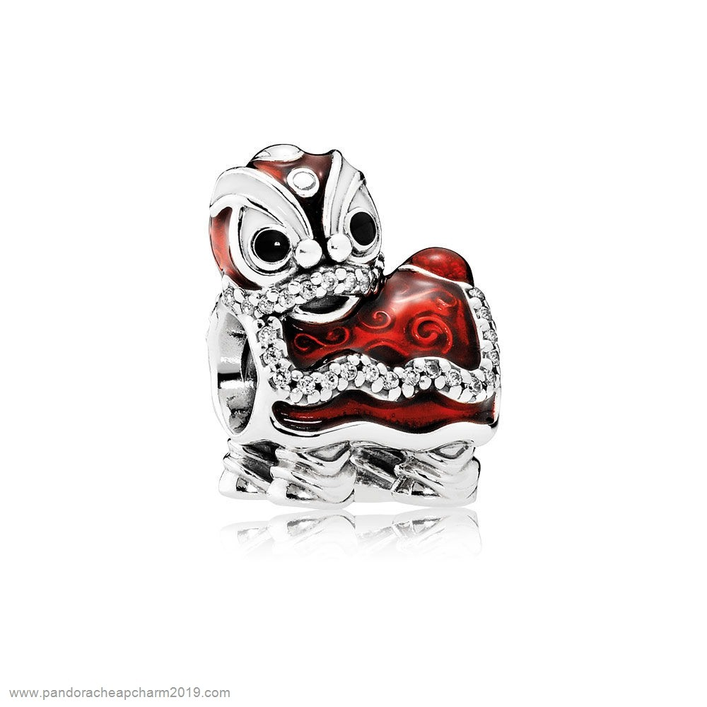 Pandora Specials Pandora Vacation Travel Charms Chinese Lion Dance